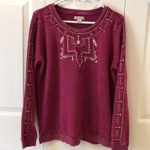 Women's Lucky embroidered sweatshirt